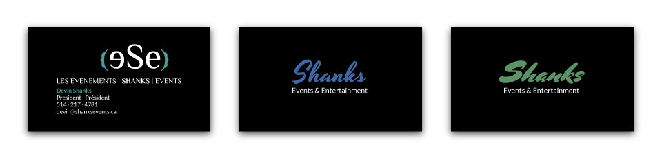 Shanks Events & Entertainment - Concepts