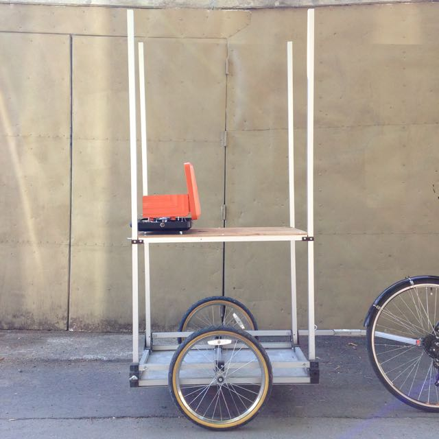 Food truck bike trailer version 1