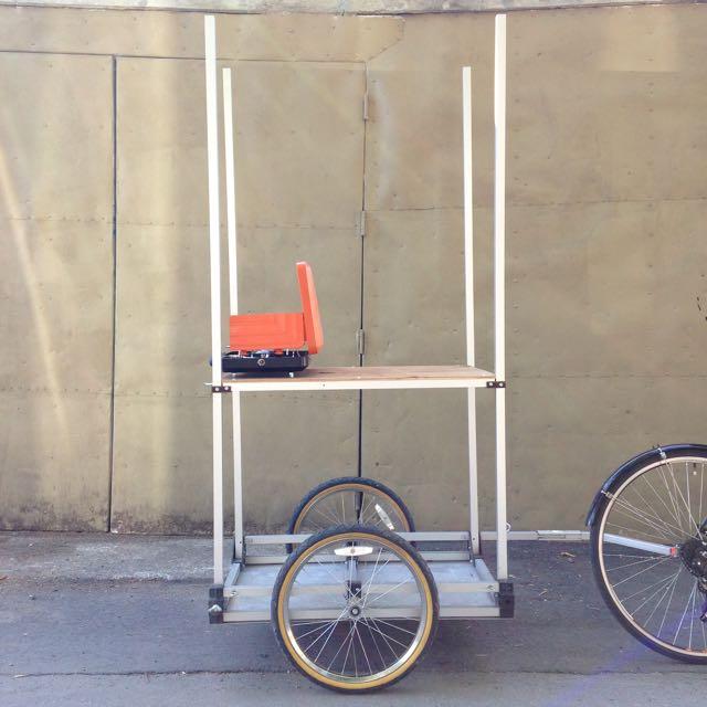 Food truck bike trailer version 1